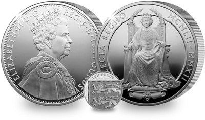 5oz UK DIamond Jubilee Coin