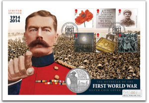 n623 1 300x208 - The Outbreak of The First World War Silver Proof Coin Cover