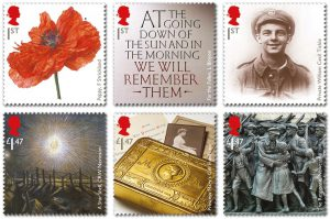 royal mail wwi stamps 1 300x199 - Royal Mail WWI Stamps
