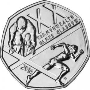 2014 commonwealth games 50p single 1 299x300 - 2014-Commonwealth-Games-50p-Single