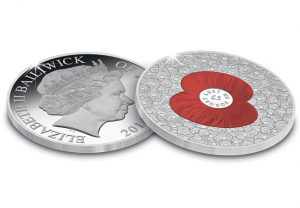 "100 poppies coin1 1 300x208 - ""100 Poppies"" £5 Coin issued in support of The Royal British Legion"