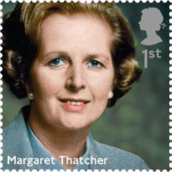 margaret thatcher stamp 1 - Margaret Thatcher Stamp