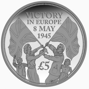 ve day coin flags 1 300x300 - 2015 VE Day Anniversary Flag Coin
