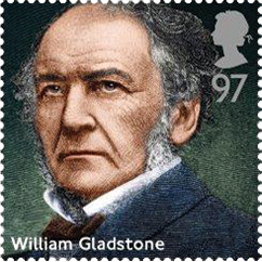 william gladstone stamp 1 - William Gladstone Stamp