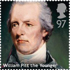 william pitt the younger stamp 1 - William Pitt the Younger Stamp