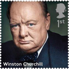 winston churchill stamp 1 - Winston Churchill Stamp