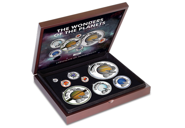 The Wonders of the Planets Coin Set