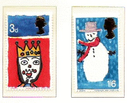 untitled 1 - Britain's First Christmas Stamps