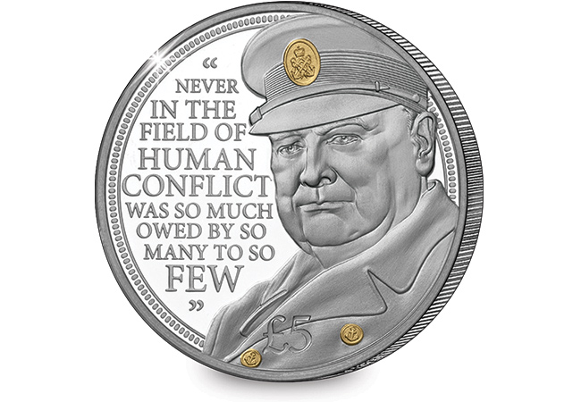 The Winston Churchill £5 Proof Coin