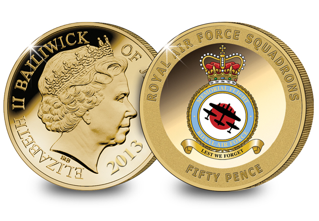 The Battle of Britain Memorial Flight Coin