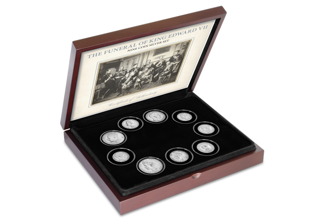 imagegen 1 - Nine Monarchs Silver Coin Set