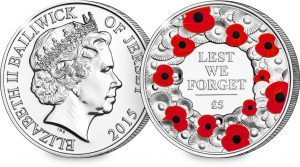 st 2015 poppy jersey cuni c2a35 for c2a35 coin both sides 1 300x167 - 2015 Poppy Jersey CuNi £5 for £5 Coin (Both Sides)