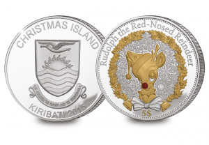 723l official 2015 christmas silver proof coin 4 1 300x208 - Official rudolph coin