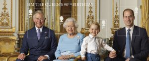 hmq90 minisheet mz115 1 300x124 - Queen's 90th Birthday Miniature Sheet