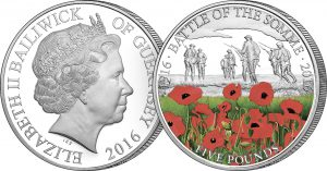 battle of the somme c2a35 cuni proof coin 1 300x157 - Battle of the Somme £5 Proof Coin