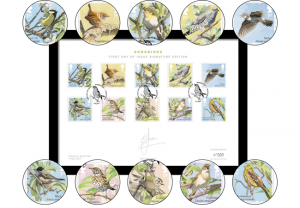 blog image 300x208 - The Limited Edition Songbirds Stamps Framed Collector Card