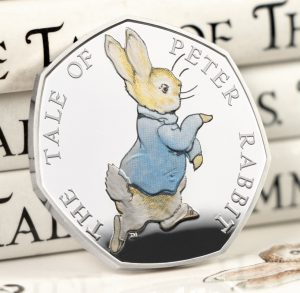 st 2017 peter rabbit silver proof 50p coin facebook banner square 300x293 - The 2017 Peter Rabbit Silver Proof 50p