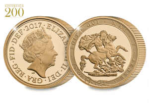 2017 gold sovereign proof piedfort both sides 300x208 - 2017-Gold-Sovereign-Proof-Piedfort-Both-Sides