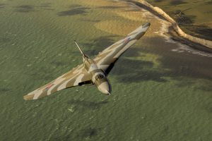 avro vulcan green sea 300x200 - Vulcan XH558 aerial shoot over Beachy Head
