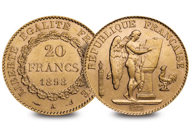 french lucky angel obverse reverse - Will these coins bring you luck?