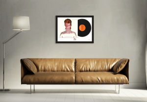 Aladdin Sane over sofa 300x208 - The Framed Presentations celebrating the UK's Music Giants – selling so fast they've gone Platinum!