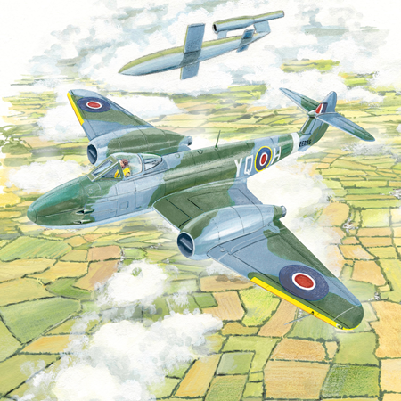 Gloster Meteor poll - Poll: Which scene best represents the Royal Air Force?