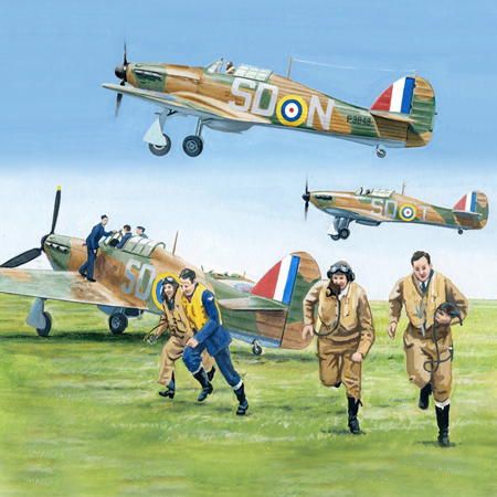 Hawker Hurricane poll - Poll: Which scene best represents the Royal Air Force?