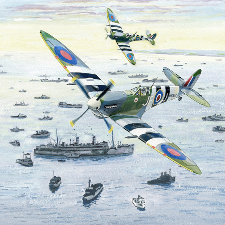 Supermarine Spitfire poll - Poll: Which scene best represents the Royal Air Force?