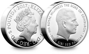 UK 2017 Prince Philip Life of Service Silver Proof Piedfort 5 Pound Coin Blog 300x185 - Royal Mint confirms lowest ever edition limit for new Piedfort release