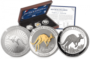 2017 Australian Silver Kangaroo Set 2 300x198 - Why the Australian Kangaroo is one of the most internationally respected coins on the market…