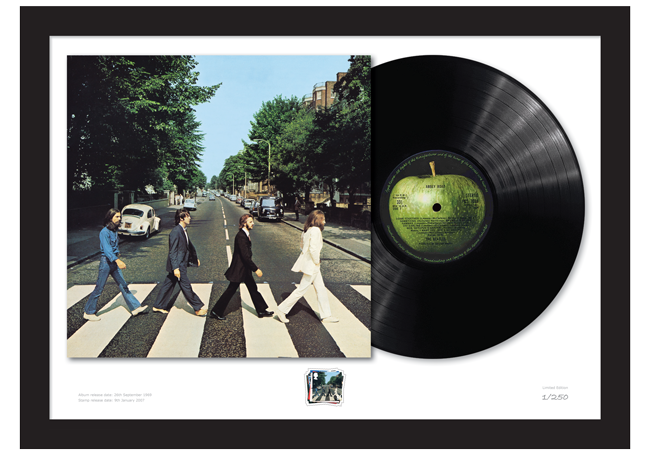 Abbey Road Vinyl 1200x628 3 - The Framed Presentations celebrating the UK's Music Giants – selling so fast they've gone Platinum!
