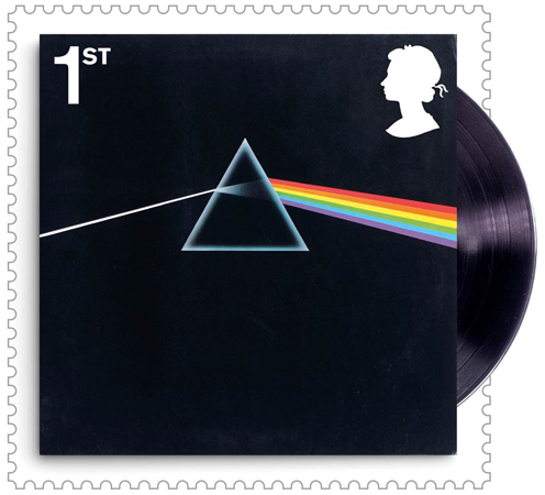 Pink Floyd Stamp - The Framed Presentations celebrating the UK's Music Giants – selling so fast they've gone Platinum!
