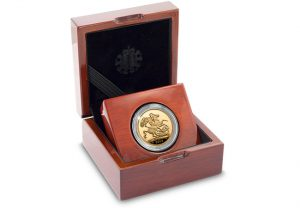 UK 2018 Gold Proof Sovereign in Display Case 300x208 - Why you have just days to secure the new 2018 Gold Proof Sovereign