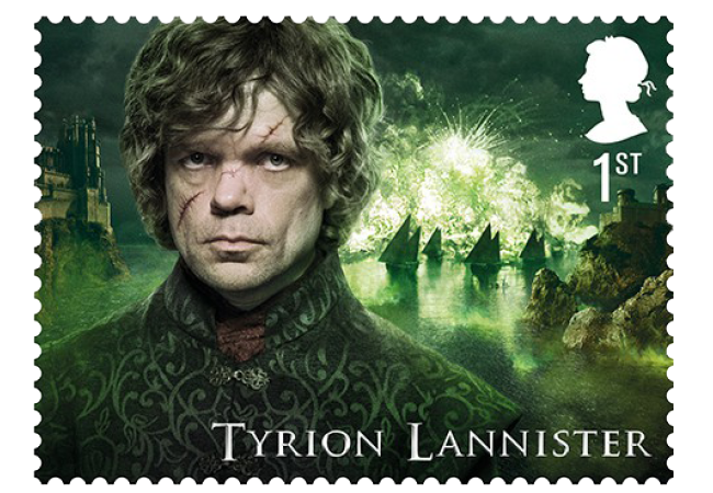 Tyrion Lannister - FIRST LOOK: World's first ever Game of Thrones Stamps just revealed