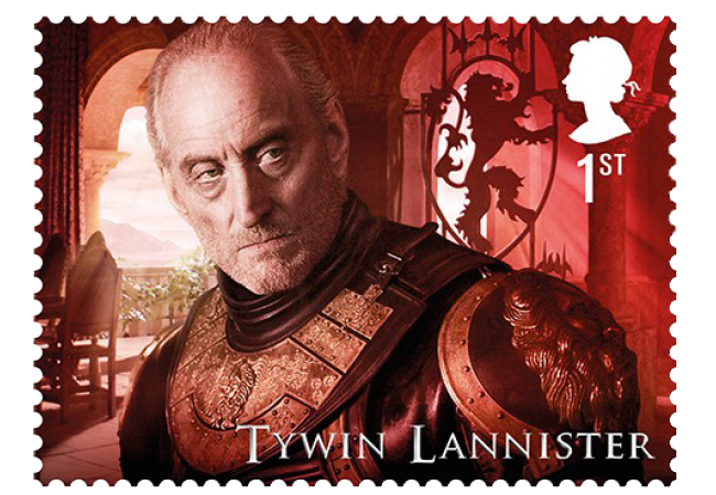 Tywin Lannister - FIRST LOOK: World's first ever Game of Thrones Stamps just revealed
