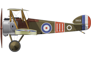 Camel 300x200 - Just released: The Official RAF Centenary Coin and the story behind the design…