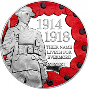 ST WWI Armistice 100th IOM Silver Proof 300x300 - Poll: Which First World War Armistice Coin do you prefer?