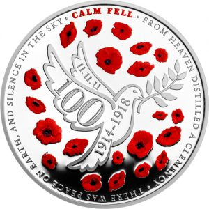ST WWI Armistice 100th Jersey Silver Proof 1 300x300 - Poll: Which First World War Armistice Coin do you prefer?
