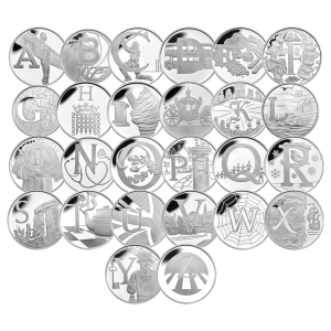 A to Z 10p Silver Proof Coins 1080x1080 4 300x300 - Collect the A-Z of Quintessentially British 10p Coins