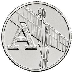 A - Collect the A-Z of Quintessentially British 10p Coins