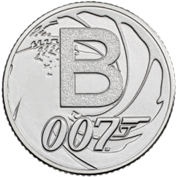 B - Collect the A-Z of Quintessentially British 10p Coins
