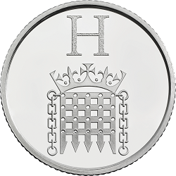 H - Collect the A-Z of Quintessentially British 10p Coins