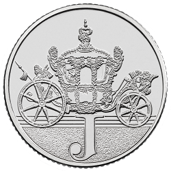 J - Collect the A-Z of Quintessentially British 10p Coins