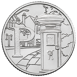 P - Collect the A-Z of Quintessentially British 10p Coins