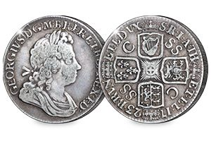 UK 1723 George I South Sea Shilling Blog ob 300x200 - The political scandal that created the 18th century's most interesting coin…