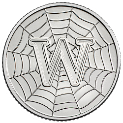 W - Collect the A-Z of Quintessentially British 10p Coins