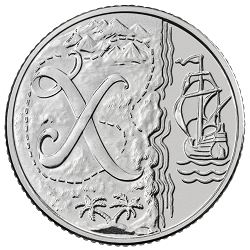 X - Collect the A-Z of Quintessentially British 10p Coins