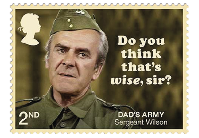 Dads Army stamps product images 1 - Don't Panic! NEW Dad's Army stamps celebrate classic British sitcom
