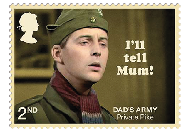 Dads Army stamps product images 2 - Don't Panic! NEW Dad's Army stamps celebrate classic British sitcom