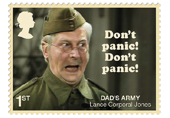 Dads Army stamps product images 4 - Don't Panic! NEW Dad's Army stamps celebrate classic British sitcom